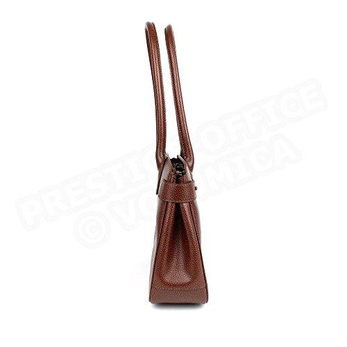 Sac à main paris cuir Fabrication Luxe Française Marron