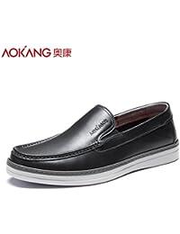 Aemember le coton pour hommes chaussures chaussures chaudes d'affaires décontractée prend pied à tête ronde Chaussures Chaussures hommes Hiver noir, 41,