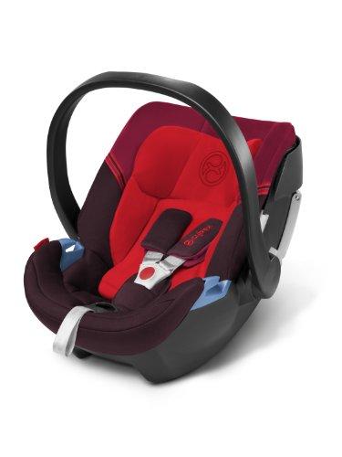 Cybex Gold Aton 3S Strawberry - Kinderautositz Gruppe 0+, ab Geburt, circa 18 Monate (0 - 13 kg), Kollektion 2014