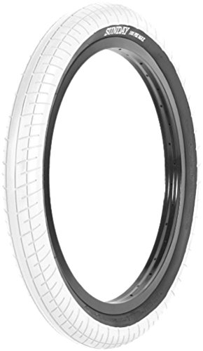 SUNDAY BIKES Street Sweeper BMX Reifen | weiß/schwarz | 2.40