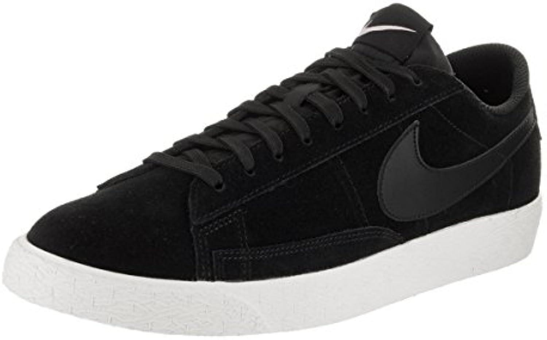 Nike Blazer Low Zapatillas Zapatillas zapatos para hombre, Schwarz (Black/Sail/Iced Lilac), 43
