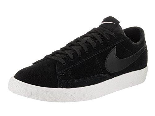 Nike Blazer Baixos Tênis Sapatilha Sapatos Para Homens Negros (pretos / Vela / Lilás Gelado)
