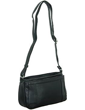 New Bags NB-1404 Damen Reißverschlusstasche