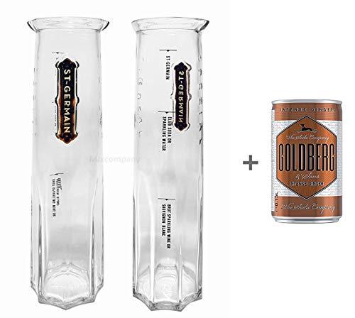 St Germain Likör Karaffe Glas mit dreifach Eichung