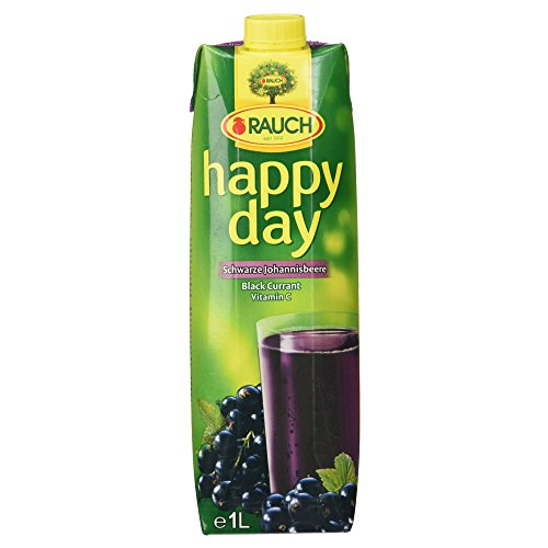 Rauch Happy Day Schwarzer Johannisbeernektar mit Vitamin C, (1 x 1,00 l)