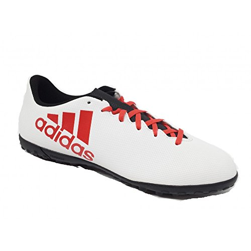 adidas X Tango 17.4 TF, Scarpe da Calcio Uomo Grigio (Grey/real Coral/core Black)