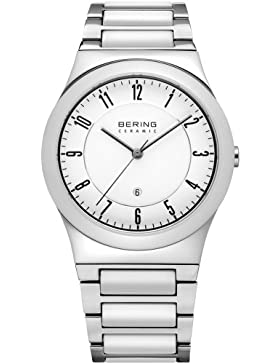 Bering Ceramic Collection Elegante Damenuhr mit Keramikelementen 32235-754
