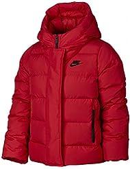 Nike G Nsw Jkt Uptown 550 - Chaqueta para niña, color rojo, talla M