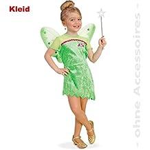 Kleid pannesamt grun