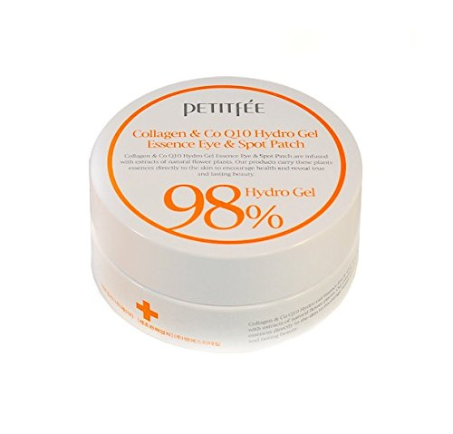 365f2f1bd14 Petitfée - 98% Collagen & Coenzyme Q10 Hydro Gel Eye Essence Patch for men  and