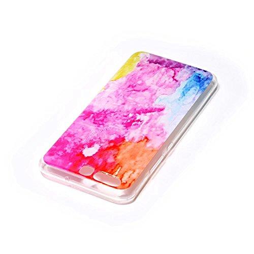 iPhone 6 cover,TXLING Glänzend Glitzer Crystal Case Hülle Klare Ultradünne Silikon Gel Schutzhülle Durchsichtig Kristall Transparent TPU Silikon Bumper Schutz Handy Hülle Case Tasche Etui für iPhone 6 02 Farbmalerei