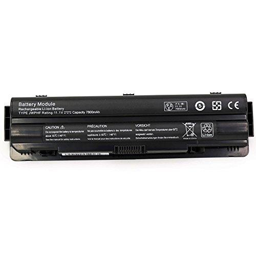 BLESYS - 7800mAh Dell 312-1123 J70W7 JWPHF R795X Ersatz-Laptop Akku passen Dell...