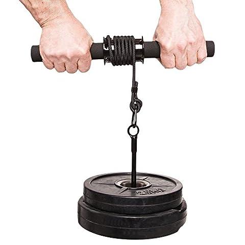 C.P. Sports Trainingshilfen Profi Unterarmtrainer, Chrom, One size, 38803