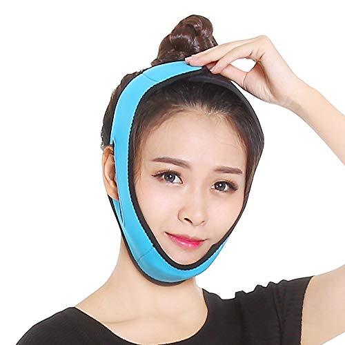 He Ping Yuan Schröpfgerät Thin Face Belt - Dünnes Gesicht Werkzeug Thin Face Belt Atmungsaktive Latex Massage V Typ Gesicht Artefakt Gesicht Dünne Maske @@