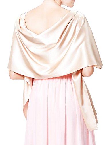 Nachtigall+Lerche Stola Satin für festliche Abendkleider Ballkleider Brautkleider Hochzeitskleider