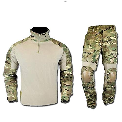 Krieger Combat UNIFORM Ripstop JSWAR-MUL Multicam - TG. S Airsoft Multicam Combat Uniform