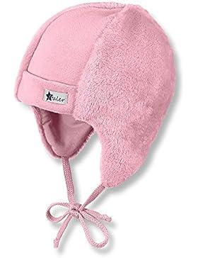 Sterntaler Mütze für Jungen mit Bindebändern und Baumwollfutter, Alter: ab 6-9 Monate, Größe: 45, Blau (Tintenblau)