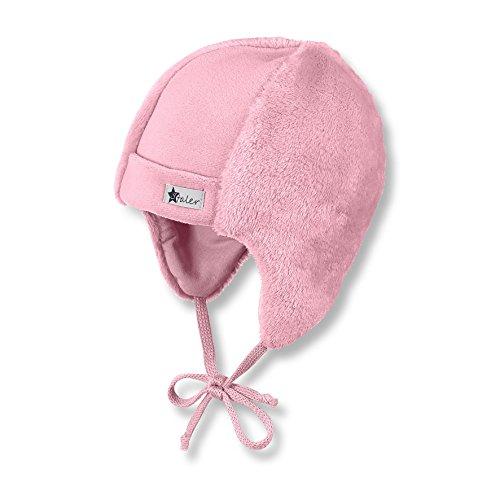 Sterntaler Baby-Mädchen Mütze, Rosa (Geranie 723), 39 (Baby-mädchen-mütze)