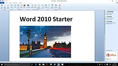 Microsoft Word 2010 Starter for Windows 10, 8.1, 8, 7 [Word Processing]
