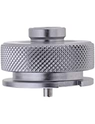 NON Baoblaze Conector Adaptador de Tanque de Gas para Acampar Estufa de Gas Aleación de Aluminio