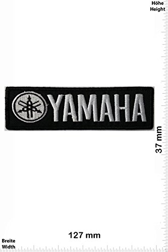 Parches   Yamaha silver/black   Motorbike   Motorsport