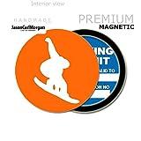 JCM Snowboarding MOT License Tax Disc Permit Holders, Orange