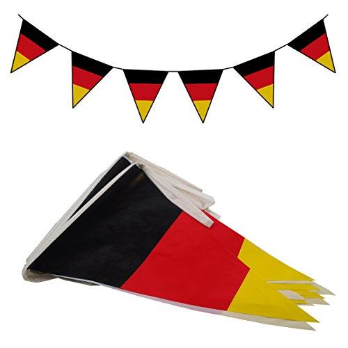 Preisvergleich Produktbild Wimpelkette 10 m Deutschland