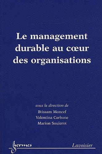 Le management durable au coeur des organisations