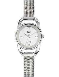 Go Girl Only–694938Damen-Armbanduhr 045J699Analog silber Armband Stahl Silber