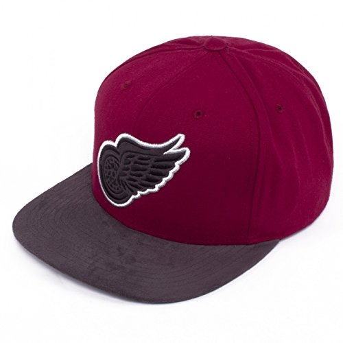 Mitchell ness casquette ajustable nHL eU454 - REDWINGS Red