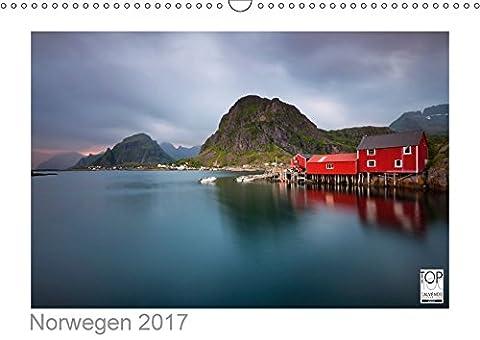 Norwegen 2017 - Land im Norden (Wandkalender 2017 DIN A3