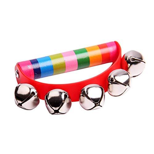 RainbowBeauty Pandereta Campanilla bebé Cabrito niño
