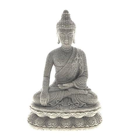 Mediating Statue de Bouddha, Grès, gérer l'figurine de Bouddha assis