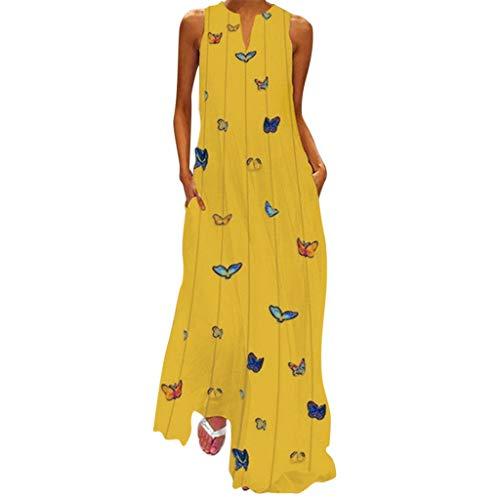 Damen Kleider Lange Sommerkleid Kurzarm Cocktail Elegant Ballkleid Mit Ärmel - Baby Doll Cocktail-abend-kleid