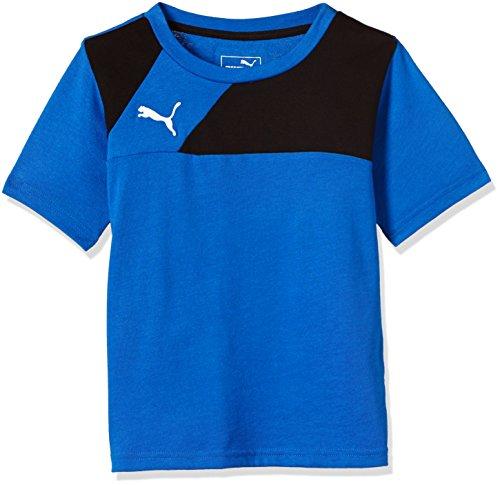 PUMA Kinder T-Shirt Esquadra Leisure Royal-Black, 164
