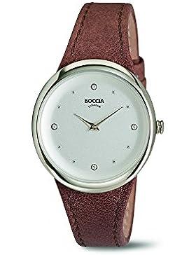 Boccia Damen-Armbanduhr 3276-01