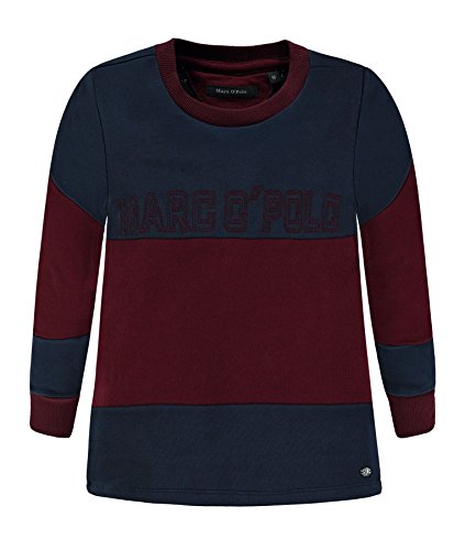 Marc O' Polo Kids Jungen Sweatshirt 1/1 Arm, Blau (Black Iris 3800), 128 Preisvergleich