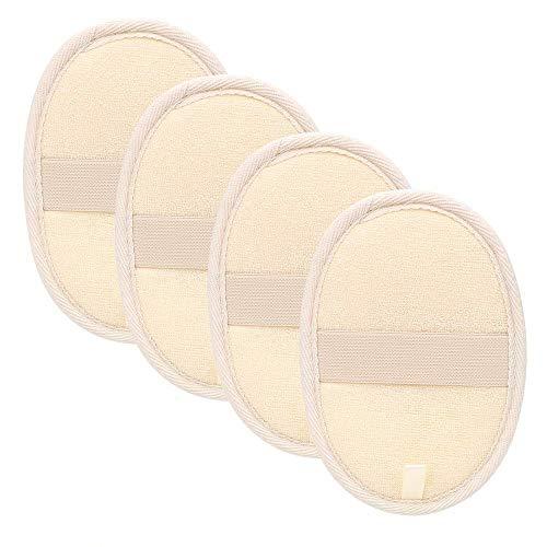 Scopri offerta per 4 confezioni di spugne esofolanti in spugna di luffa, spugna in luffa naturale in luffa per uomo e donna, bagno, doccia e spa