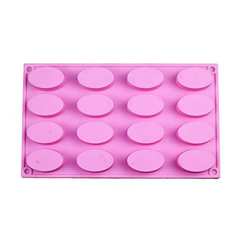 Cieelita Oval Silikon-seifen-Form Für Handgemachte Seifenherstellung Forms Praline-Form-Kuchen-backen-Werkzeug