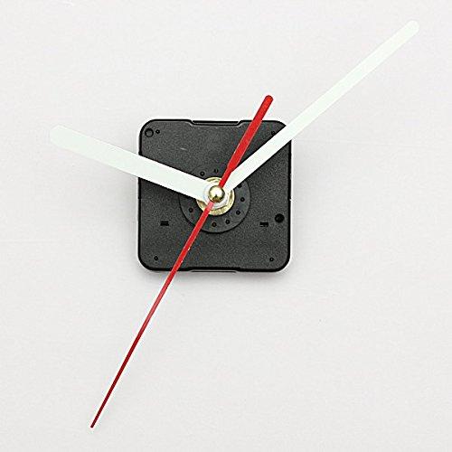 Preisvergleich Produktbild EsportsMJJ White & Red Hands DIY Quartz Schwarz Wall Clock Repair Ersatzteile