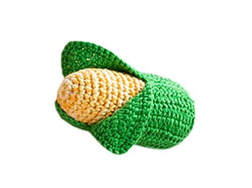 Cosplay Mai Kostüm (DELEY 1 STÜCK Baby Kinder Spielzeug Häkeln Gestrickt Gemüse Obst Fotoshooting Requisiten)