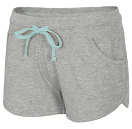 4F signora Pantaloncini Corti Pantaloni da donna sport pantaloni Bermuda Fitness Pantalone da uomo pantaloni Jogging Pantaloni skdd001() grigio chiaro