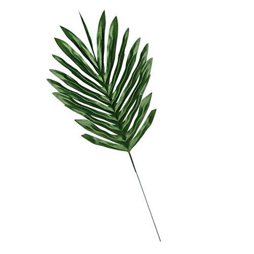 (fish Künstliches Blatt Tropische Palmblätter Simulation Blatt für Hawaiian Luau Thema-Partei-Hausgarten-Dekorationen)