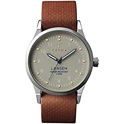 Triwa - Watches - Men - Lansen Dawn Watch Brown Leather Nat Bracelet for men - TU