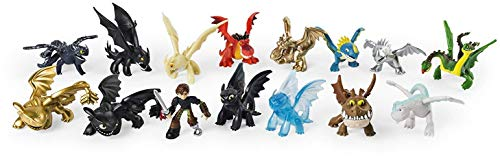 HTTYD Dragons, how to train your dragon 3 - pack 3 baby toys Dragons 10'24 '/ 26cm Super Soft Quality