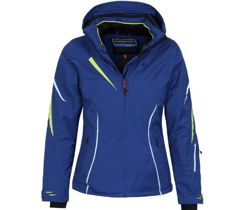 Bergson Damen Skijacke Destiny, Sodalite Blue [309], 42 - Damen