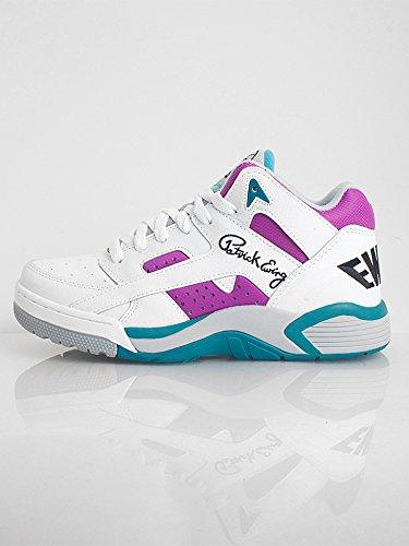 Ewing Athletics Ewing Wrap Mid White Grape Basketball Schuhe Shoes Herren Men Blanc