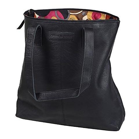 Greenburry Boomer Shopper Tasche Leder 39 cm