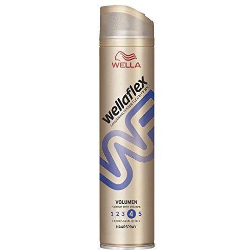 Wellaflex Haarspray Volumen extra starker Halt, 6er Pack (6 x 250 ml)