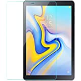 Colorcase Tempered Glass Screenguard for Samsung Galaxy Tab A 10.5 Tablet SM-T590 SM-T595 - [Transparent}